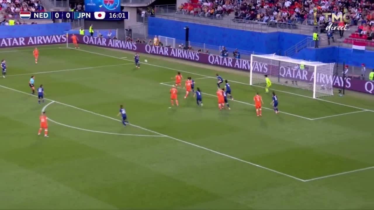 Nederland - Japan 1-0 door Lieke Martens