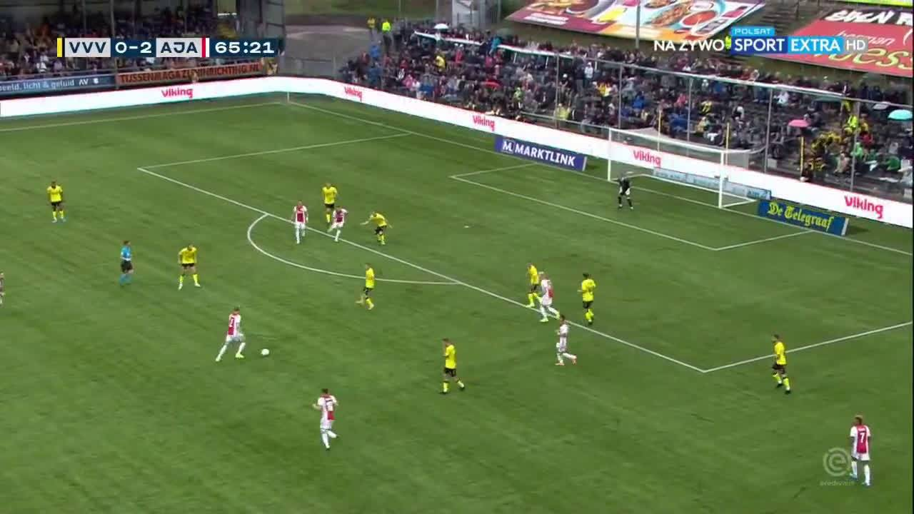 VVV Venlo - Ajax 0-3 door Klaas Jan Huntelaar